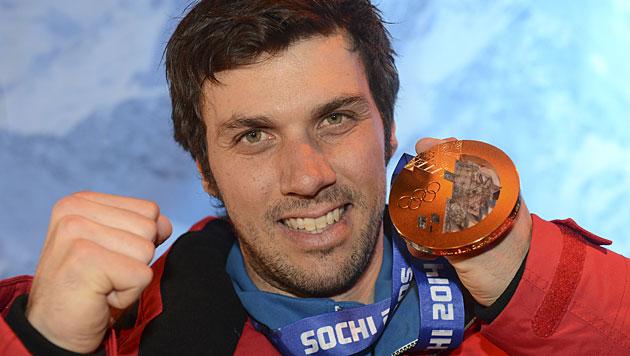 """Matt nach Slalom-Gold: """"Das war die Krönung"""" (Bild: APA/HELMUT FOHRINGER)"""