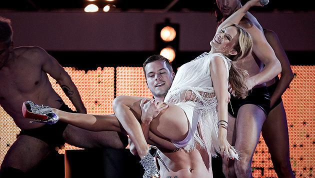 "Kylie Minogue: ""Geilie""-Comeback mit 46! (Bild: EMILIO NARANJO/EPA/picturedesk.com)"