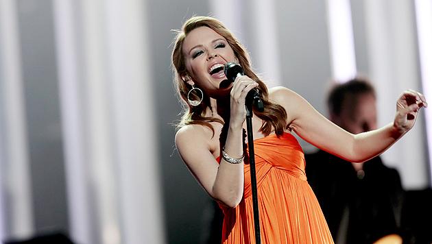 """Kylie Minogues Hintern """"wandert Richtung Süden"""" (Bild: STIAN LYSBERG SOLUM/EPA/picturedesk.com)"""