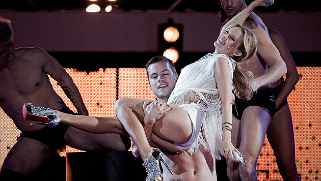 "Kylie Minogues Hintern ""wandert Richtung Süden"" (Bild: EMILIO NARANJO/EPA/picturedesk.com)"
