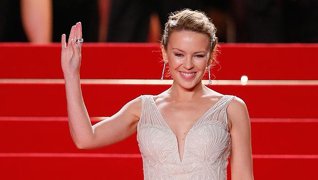"""Kylie Minogues Hintern """"wandert Richtung Süden"""" (Bild: EPA)"""