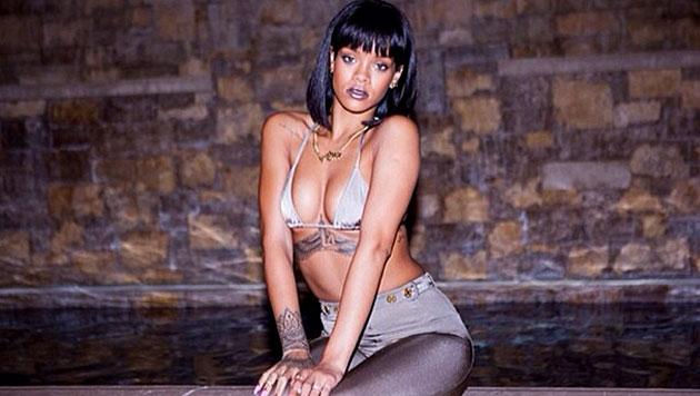 Neu-Single Rihanna zeigt sich mit rosa Pixie (Bild: instagram.com)