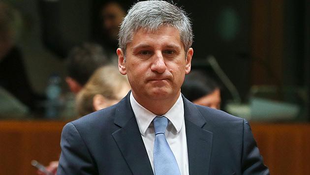 """Spindelegger lädt Minister zum """"Budgetcontrolling"""" (Bild: APA/EPA/Olivier Hoslet)"""
