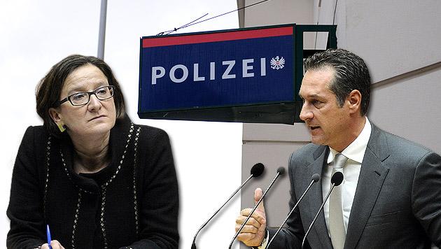 "Strache sieht ""Geschenke an Kriminelle"" (Bild: Andreas Graf, APA/HERBERT PFARRHOFER, krone.at-Grafik)"