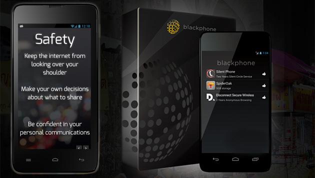 Blackphone ermöglicht verschlüsselte Telefonate (Bild: Blackphone, krone.at-Grafik)