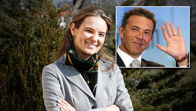 EU-Wahl: BZÖ trumpft mit Haiders Tochter auf (Bild: Zwefo, AFP, krone.at-Grafik)