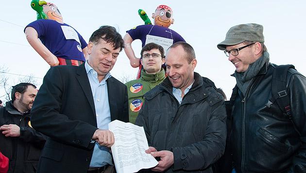Opposition scheitert erneut mit Hypo-U-Ausschuss (Bild: APA/Die Grünen/O.Korschil)