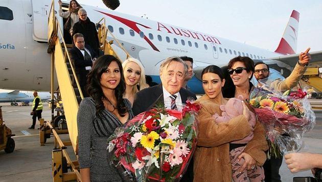"""""""Alles passt"""": Kim Kardashian in Wien gelandet (Bild: Christina Noèlle)"""