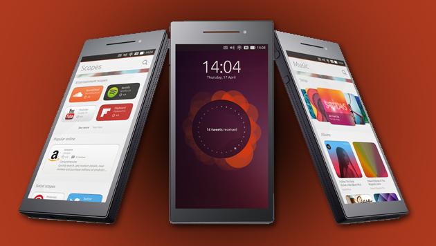 Erste Handys mit Ubuntu noch in diesem Jahr (Bild: Cannonical, krone.at-Grafik)