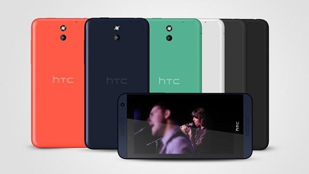 HTC bringt neue Desires und spendet Rechenpower (Bild: HTC)