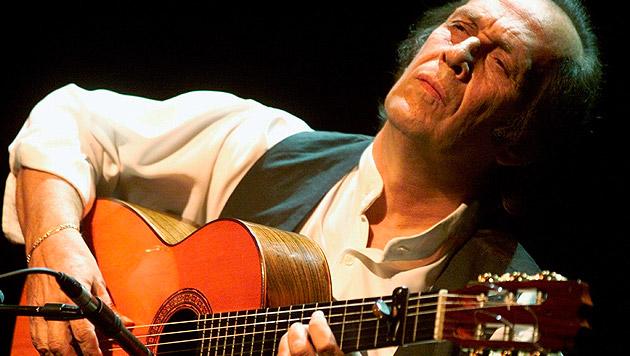 Spanischer Stargitarrist Paco de Lucia verstorben (Bild: AP)