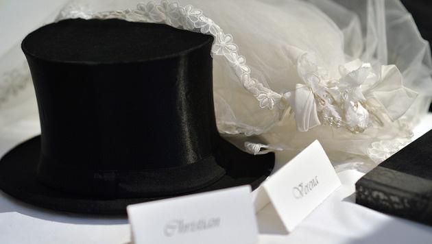 Zahl der Eheschließungen ging deutlich zurück (Bild: APA/BARBARA GINDL)
