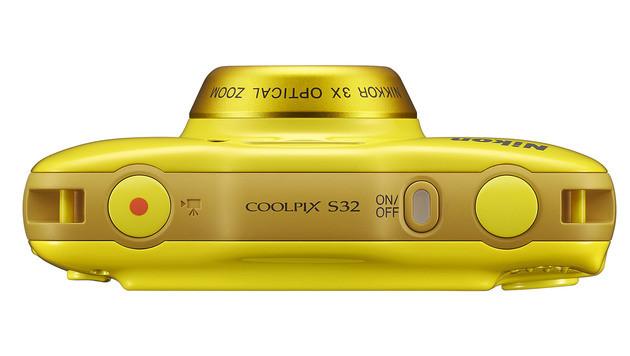 Coolpix S32: Nikons Einfachst-Kamera im Test (Bild: Nikon)