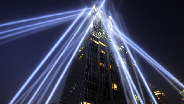 """DC Tower"" in Wien offiziell eröffnet (Bild: APA/HANS PUNZ)"