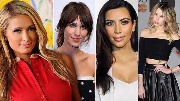 Das Phänomen It-Girl: Berühmt fürs Berühmtsein (Bild: Pizzello/Invision/AP, SZENES/EPA, APA/EPA/ARRIZABALAGA)