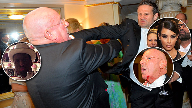 Rassismus-Skandal und Schlägerei beim Opernball (Bild: Andreas Tischler, APA/HERBERT PFARRHOFER, puls4.com)