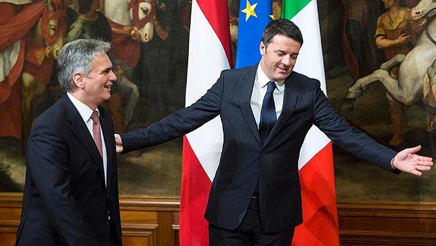 """Renzi ein """"engagierter Reformer mit klaren Ideen"""" (Bild: AP)"""
