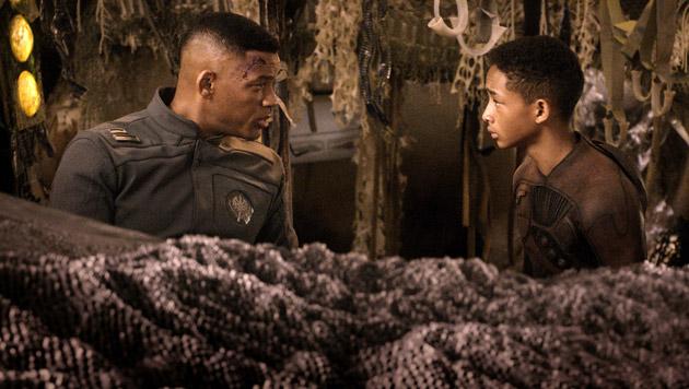 Jaden stand bereits mit Will Smith vor der Kamera. (Bild: AP/Sony Pictures)