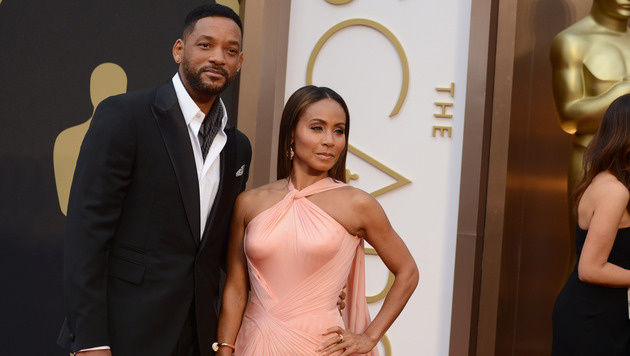Will Smith und Jada Pinkett Smith (Bild: Jordan Strauss/Invision/AP)
