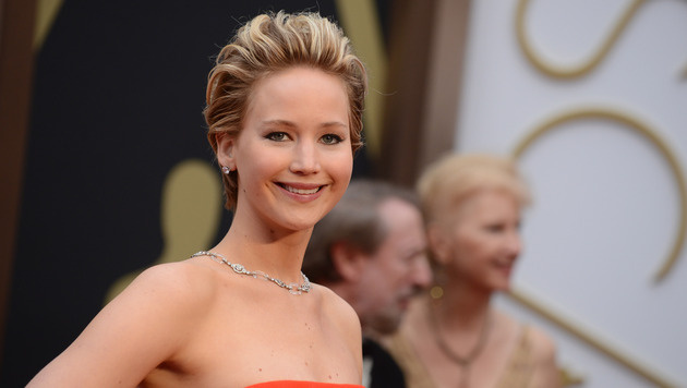 Knallhartes Work-out für Jennifer Lawrence (Bild: Jordan Strauss/Invision/AP)