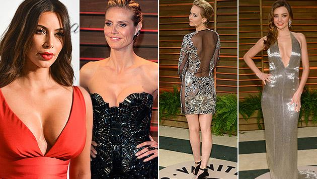 So feierten die Stars nach den Oscars weiter (Bild: APA/EPA/PROMMER, Shotwell/Invision/AP, Agostini/Invision/AP)