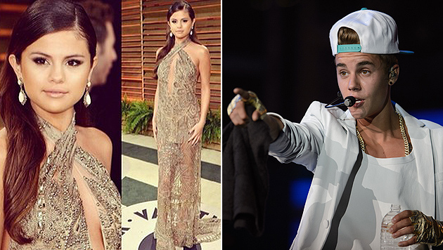 "Bieber nennt Gomez ""eleganteste Prinzessin"" (Bild: Instagram, Powers Imagery/Invision/AP)"