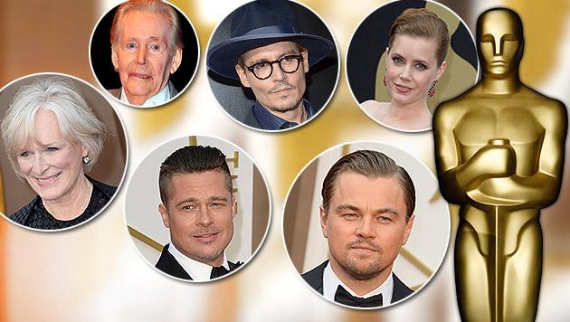 Diese Stars sind die großen Verlierer der Oscars (Bild: APA/EPA/MIKE NELSON, Invision, APA/EPA/DANIEL DEME, AP)