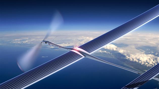 Google-Drohne kurz nach Start abgestürzt (Bild: Titan Aerospace)