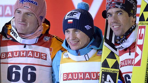 Kamil Stoch gewinnt in Kuopio, Hayböck Sechster (Bild: AP)