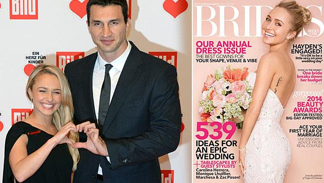 Klitschko-Freundin Hayden plaudert übers Heiraten (Bild: APA/EPA/JENS KALAENE, Brides)