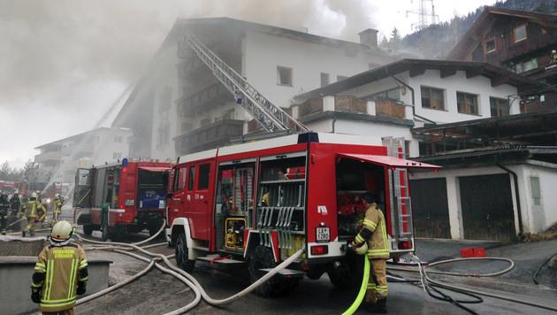 Mario Matt löschte Feuer in Familien-Tischlerei (Bild: APA/ZEITUNGSFOTO.AT/DANIEL LIEBL)
