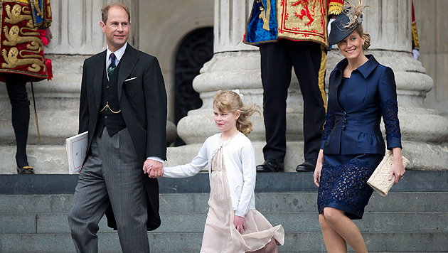 Royaler Hinterbänkler: Prinz Edward wird 50 (Bild: FACUNDO ARRIZABALAGA/EPA/picturedesk.com)