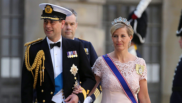 Royaler Hinterbänkler: Prinz Edward wird 50 (Bild: CHRISTOPHE KARABA/EPA/picturedesk.com)
