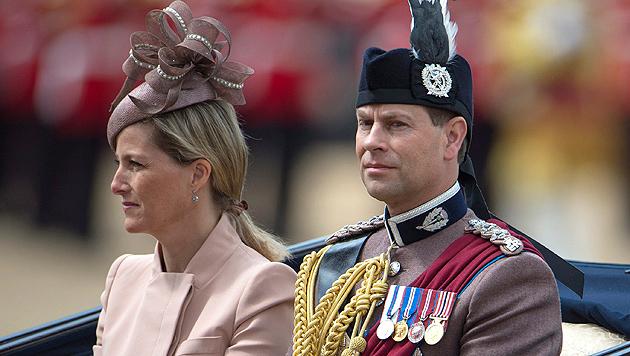 Royaler Hinterbänkler: Prinz Edward wird 50 (Bild: EPA)