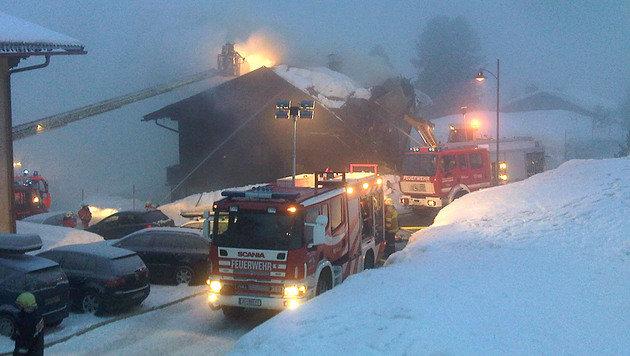 Verdächtiger nach Brand in Obertauern ausgeforscht (Bild: APA/FRANZ NEUMAYR)