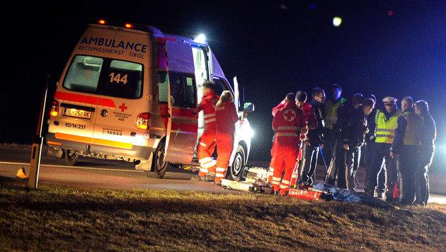400-PS-Bolide fiel Zeugen vor Unfalldrama auf (Bild: APA/zeitungsfoto.at)