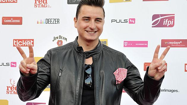 Andreas Gabalier wird jetzt auch noch Fernsehstar (Bild: APA/HANS PUNZ)