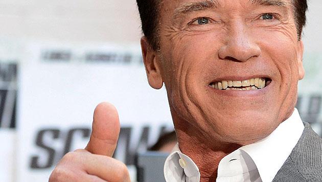 "Arnie bestätigt Hauptrolle in ""Terminator 5"" (Bild: EPA/CLAUDIO ONORATI)"
