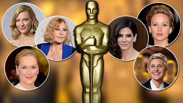 Ein Oscar für die Schönheitschirurgie? (Bild: Steinberg, Strauss/Invision/AP, APA/EPA/BUCK, NELSON, YADA)