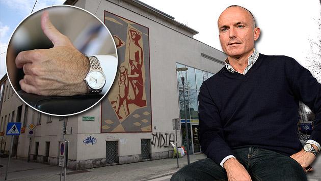 Minister Gerald Klug wurde Luxusuhr gestohlen (Bild: Gerhard Bartel, APA/HANS KLAUS TECHT)