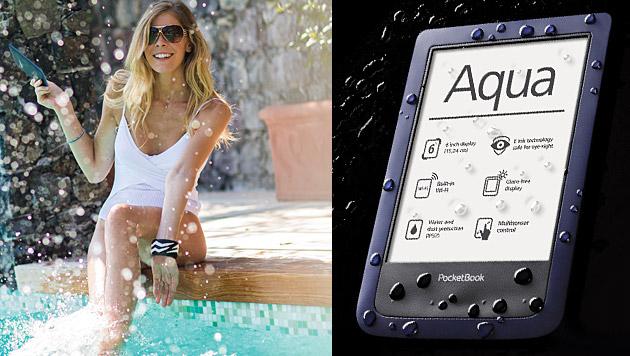 PocketBook kündigt wasserdichten E-Book-Reader an (Bild: Pocketbook, krone.at-Grafik)