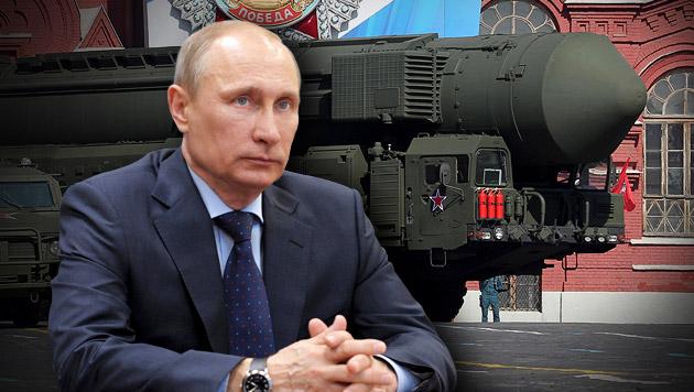 Kremlchef Putin nennt Bedingungen für eine Wiederaufnahme der Plutonium-Zerstörung. (Bild: EPA, APA/EPA/ALEXEY DRUGINYN / RIA NOVOSTI / KREMLIN POOL)