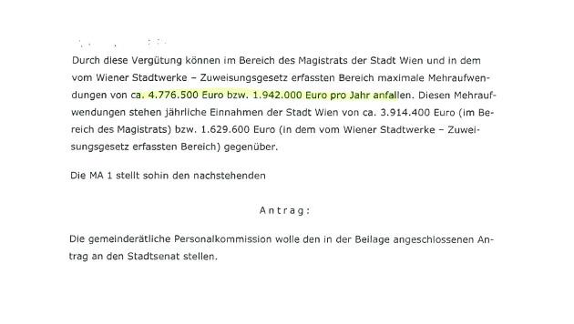 Zusätzlich 6,7 Millionen Euro für Wiener Beamte (Bild: Krone)