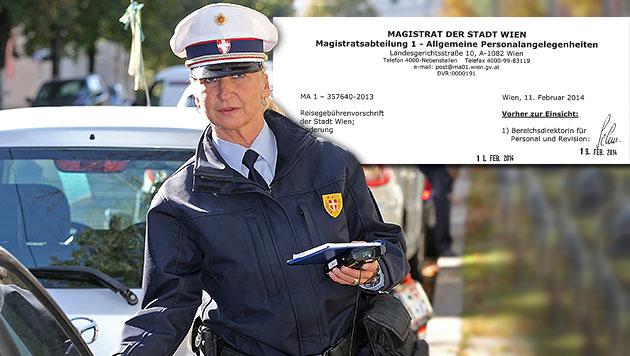Zusätzlich 6,7 Millionen Euro für Wiener Beamte (Bild: Klemens Groh, Krone, krone.at-Grafik)