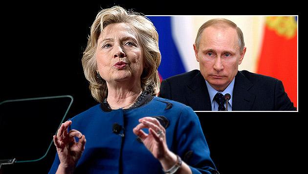 Auch Clinton gibt Putin Mitschuld an Niederlage (Bild: AP, APA/EPA/ALEXEY DRUZHINYN /RIA NOVOSTI / KREMLIN POOL)
