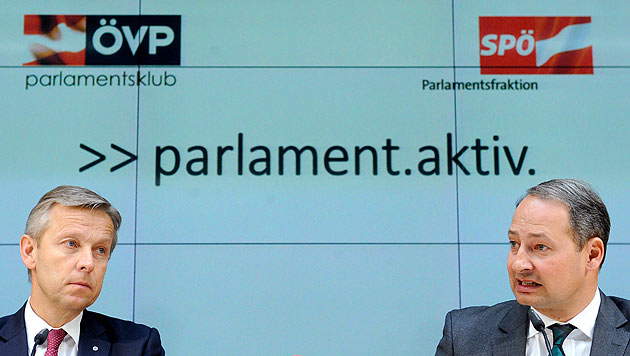 Fahrplan bei Demokratiereform wird konkreter (Bild: APA/Roland Schlager)