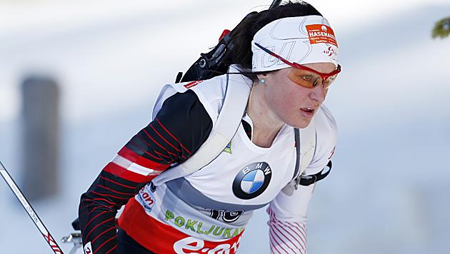 Innerhofer feiert 1. Sieg für ÖSV-Biathletinnen (Bild: AP)