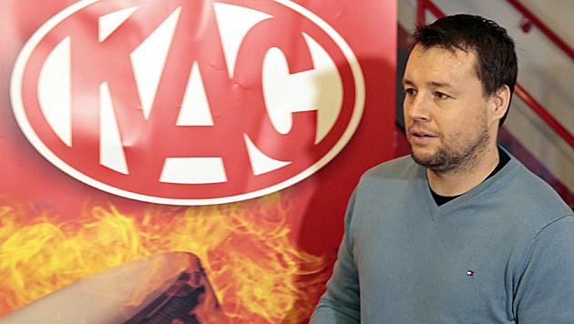 Tscheche Stloukal neuer KAC-Trainer (Bild: APA/GERT EGGENBERGER)