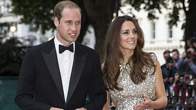 Kate und William im Liebesurlaub auf den Malediven (Bild: EPA)