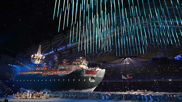 Putin eröffnete Winter-Paralympics in Sotschi (Bild: APA/EPA/SERGEI CHIRIKOV)